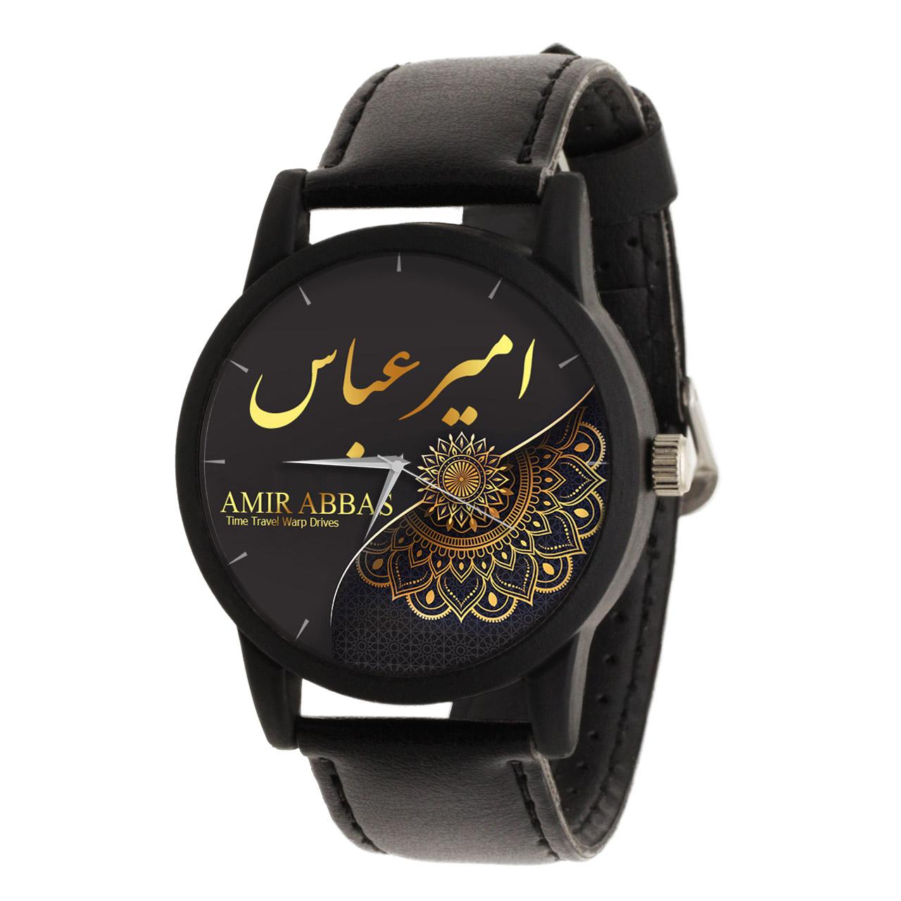 ساعت مچی  مردانه طرح امیر عباس کد LF3277              اصل