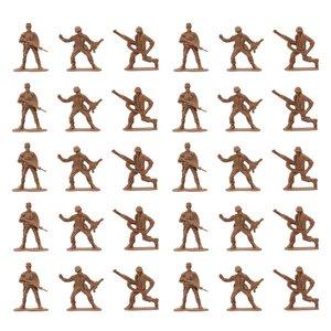 فیگور سرباز مدل Military figure مجموعه ی 30 عددی