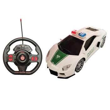 ماشین بازی کنترلی مدل لامبورگینی پلیس کد 01