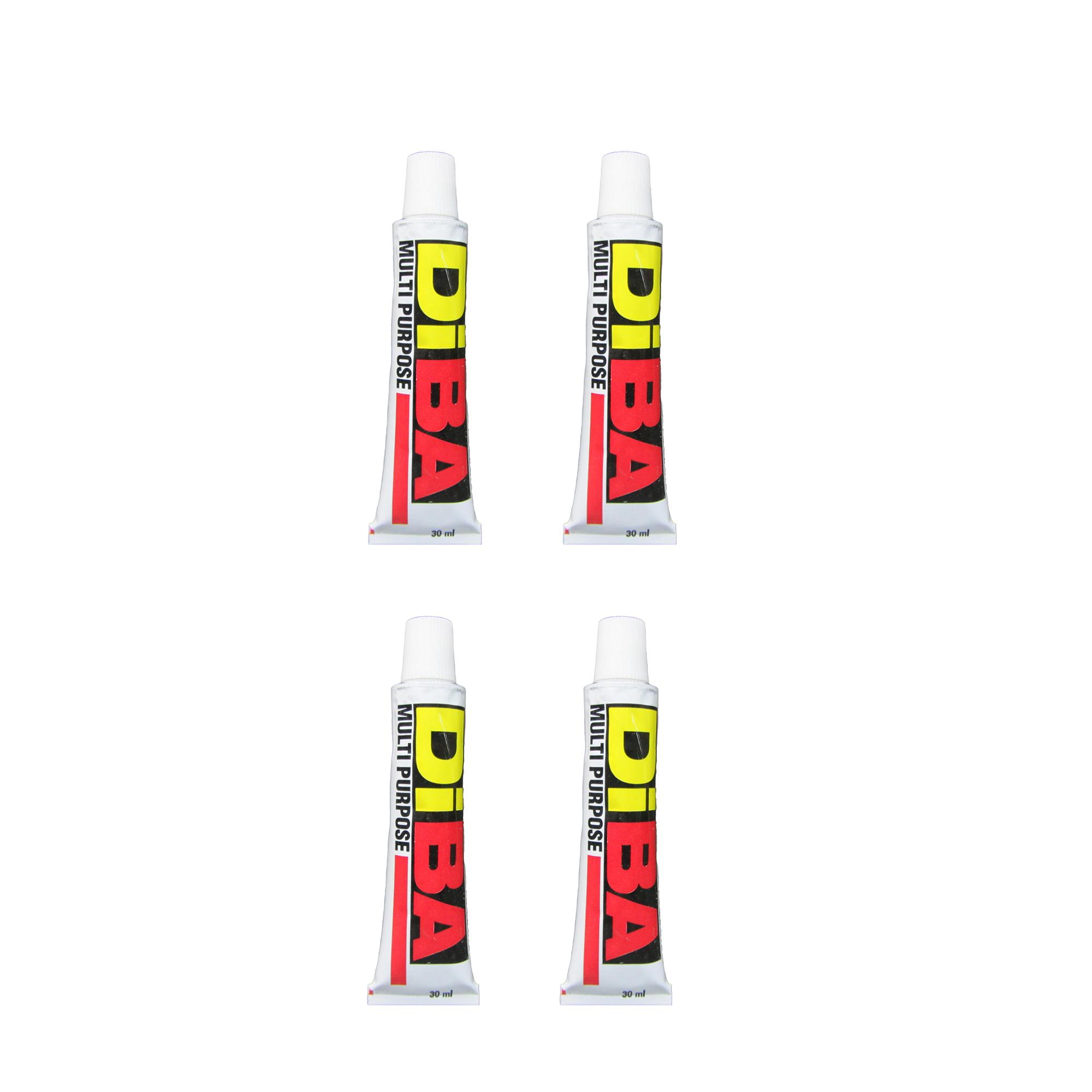 چسب سیلیکون آکواریوم دیبا کد ۰۱ حجم ۳۰ میلی لیتر بسته ۴ عددی