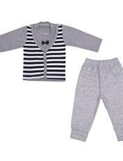 ست تی شرت و شلوار نوزادی کد 507 -  - 1