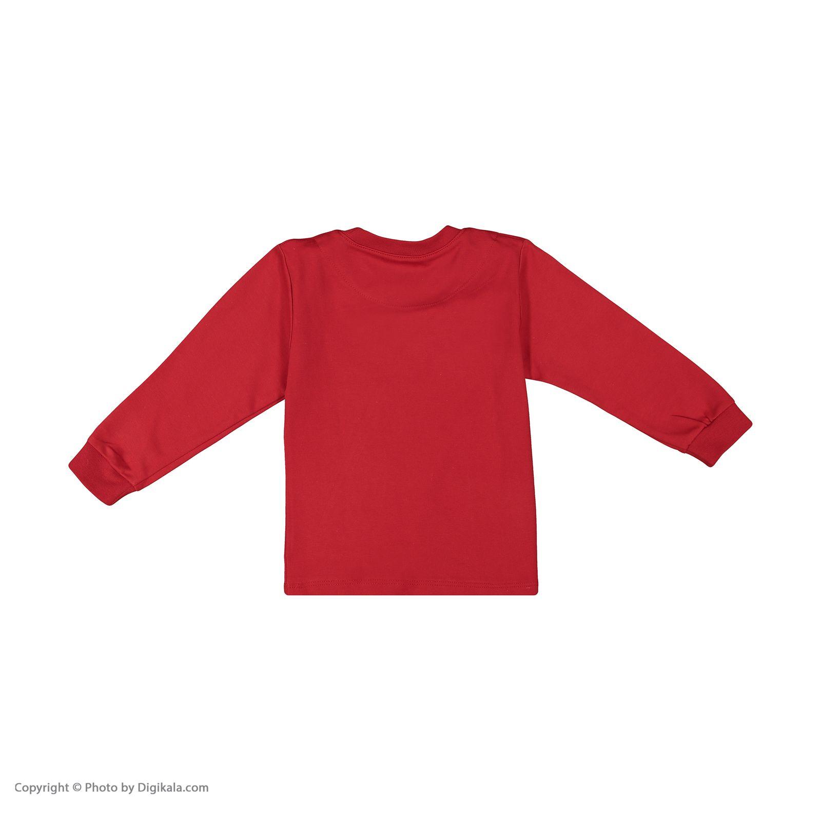 ست تی شرت و شلوار پسرانه مادر مدل 318-72 main 1 3