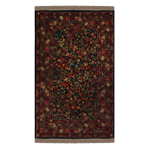 فرش دستباف دو متری طرح هزارگل مدل H50