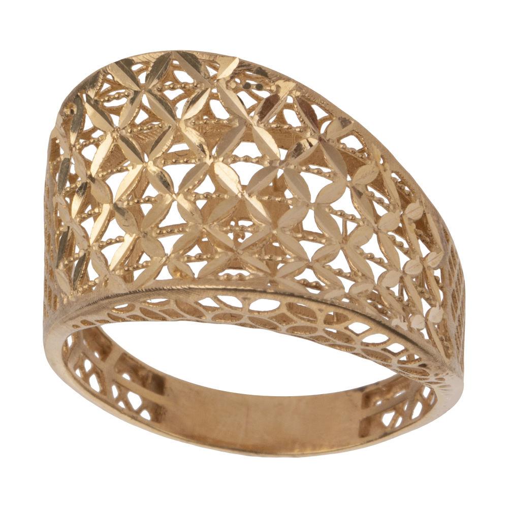 انگشتر طلا 18 عیار زنانه مایا ماهک مدل MR0380