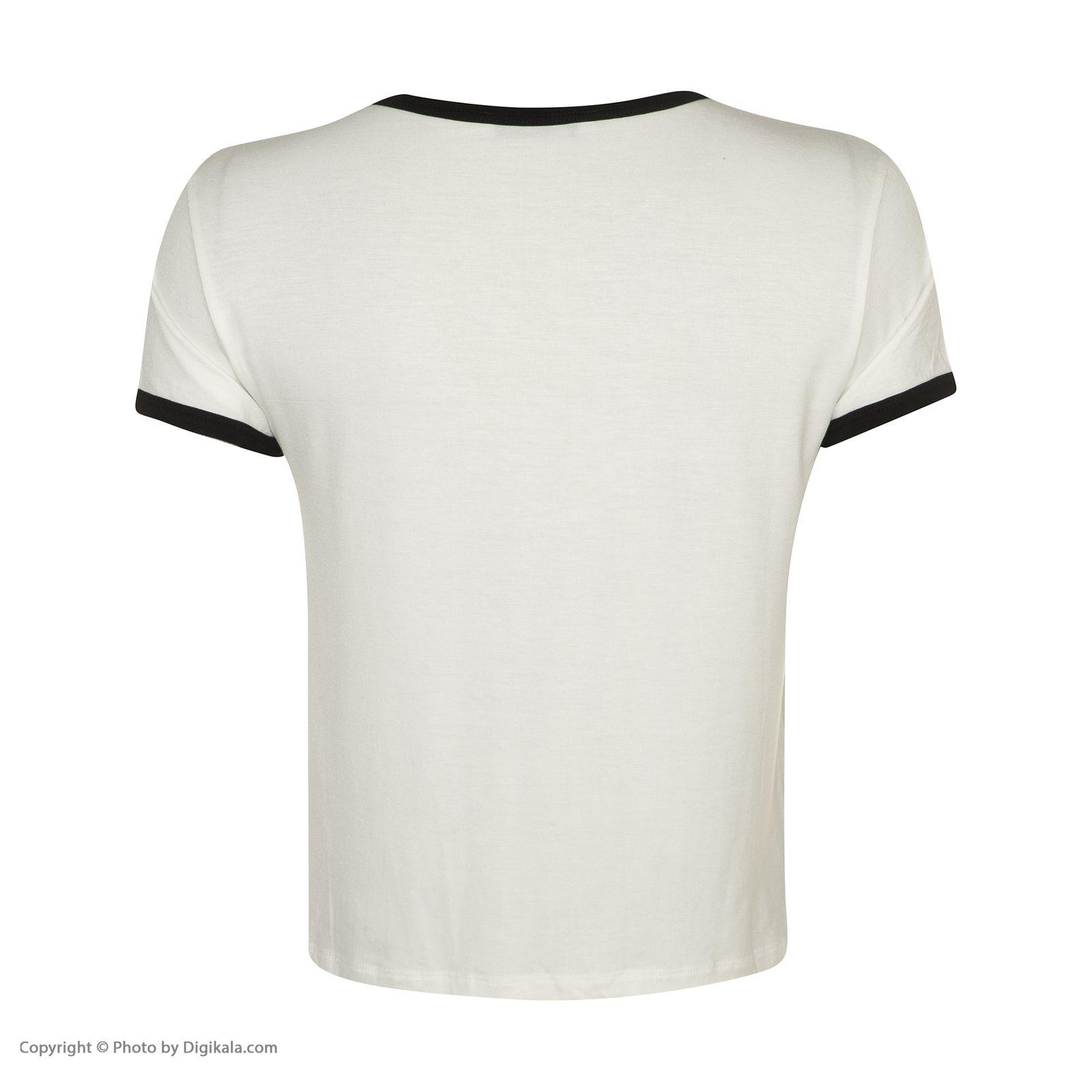 تی شرت زنانه کالینز مدل CL1032902-OFF WHITE main 1 3