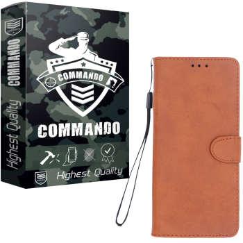 کیف کلاسوری کماندو مدل K21 مناسب برای گوشی موبایل سامسونگ Galaxy A01
