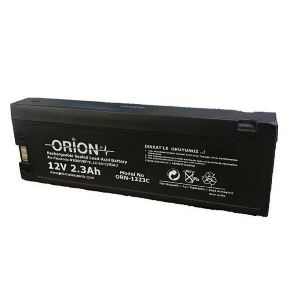 باتری یو پی اس 12 ولت 2.3 آمپر اوریون مدل ORN-1223c