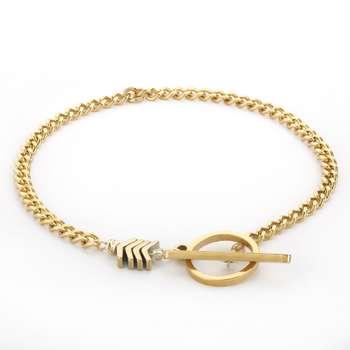 دستبند طلا 18 عیار زنانه مدل SGH112