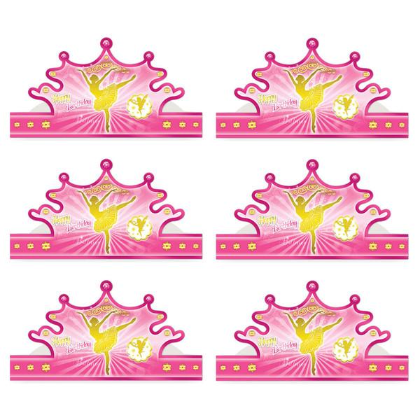 تاج سورساتان مدل باله بسته 6 عددی