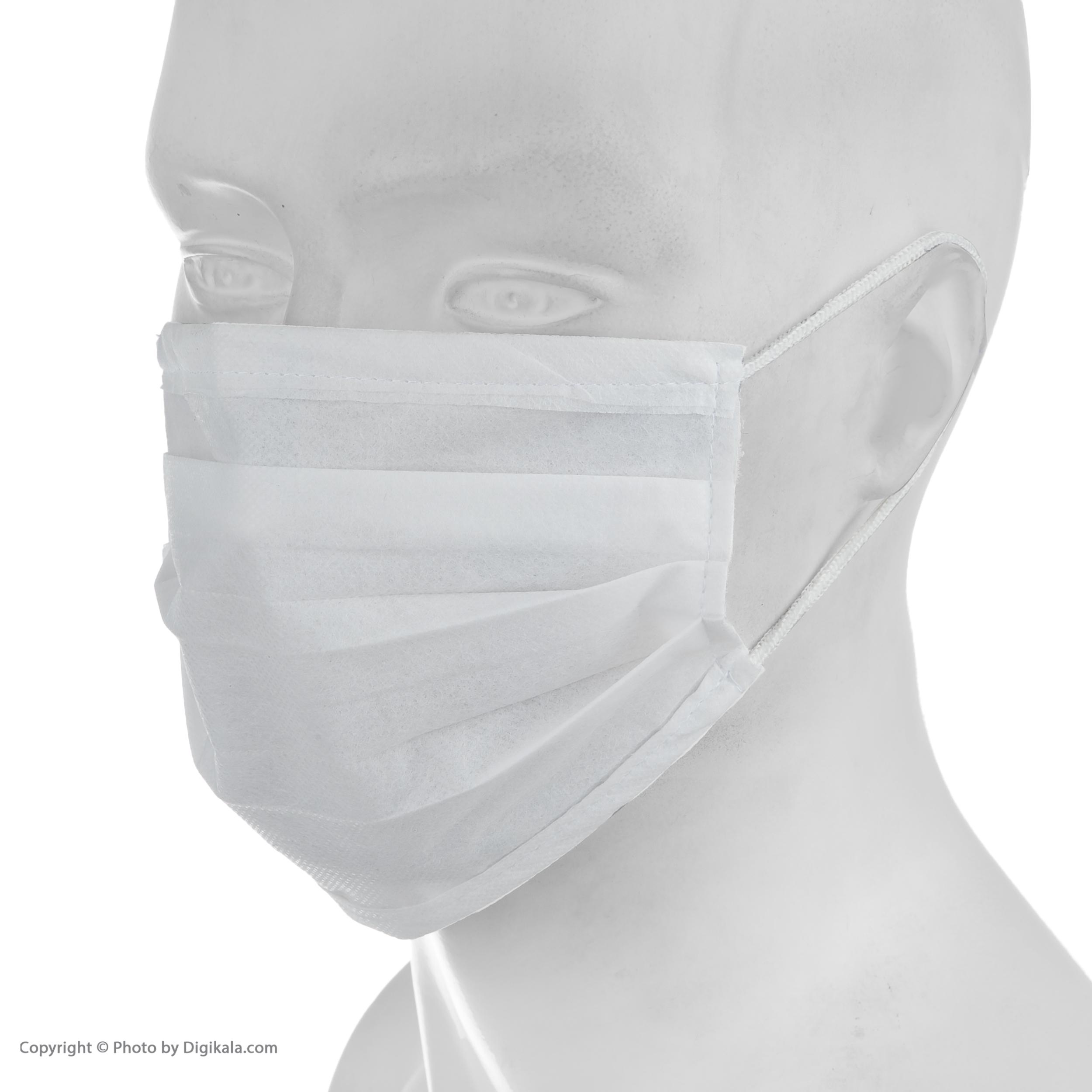 ماسک تنفسی مدل M02 بسته 20 عددی