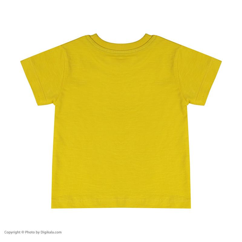 تی شرت نوزادی پسرانه بی کی مدل 2211124-16