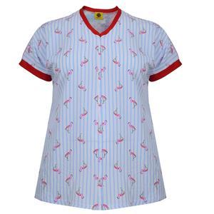 تی شرت زنانه تپل تیپ کد 0001-155