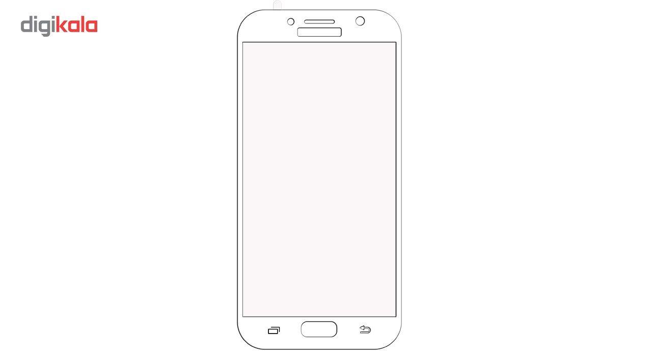 محافظ صفحه نمایش موکول مدل Full Cover 3D Curve مناسب برای گوشی موبایل سامسونگ گلکسی 2016 A7 main 1 3