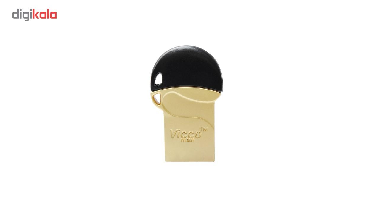 فلش مموری ویکو من مدل vc 125 GOLD ظرفیت 32گیگا بایت