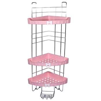 قفسه حمام بروفه مدل Pink