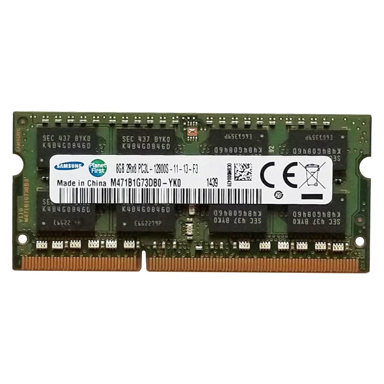 رم لپ تاپ سامسونگ مدل DDR3L 1600MHz ظرفیت 8 گیگابایت