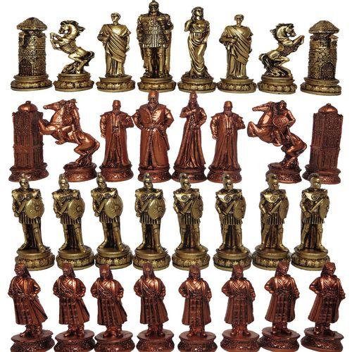 ست مهره شطرنج مدل E04