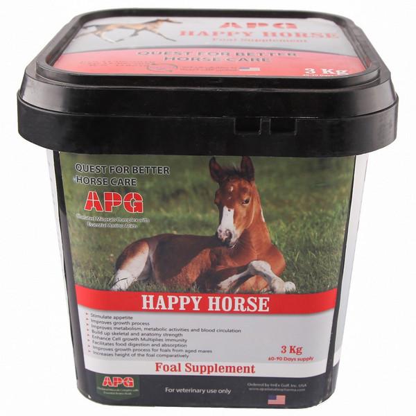 مکمل تقویتی درمانی غذای کره اسب هپی هورس کد 612001