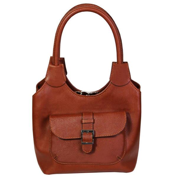 کیف دستی زنانه چرم ناب کد K205