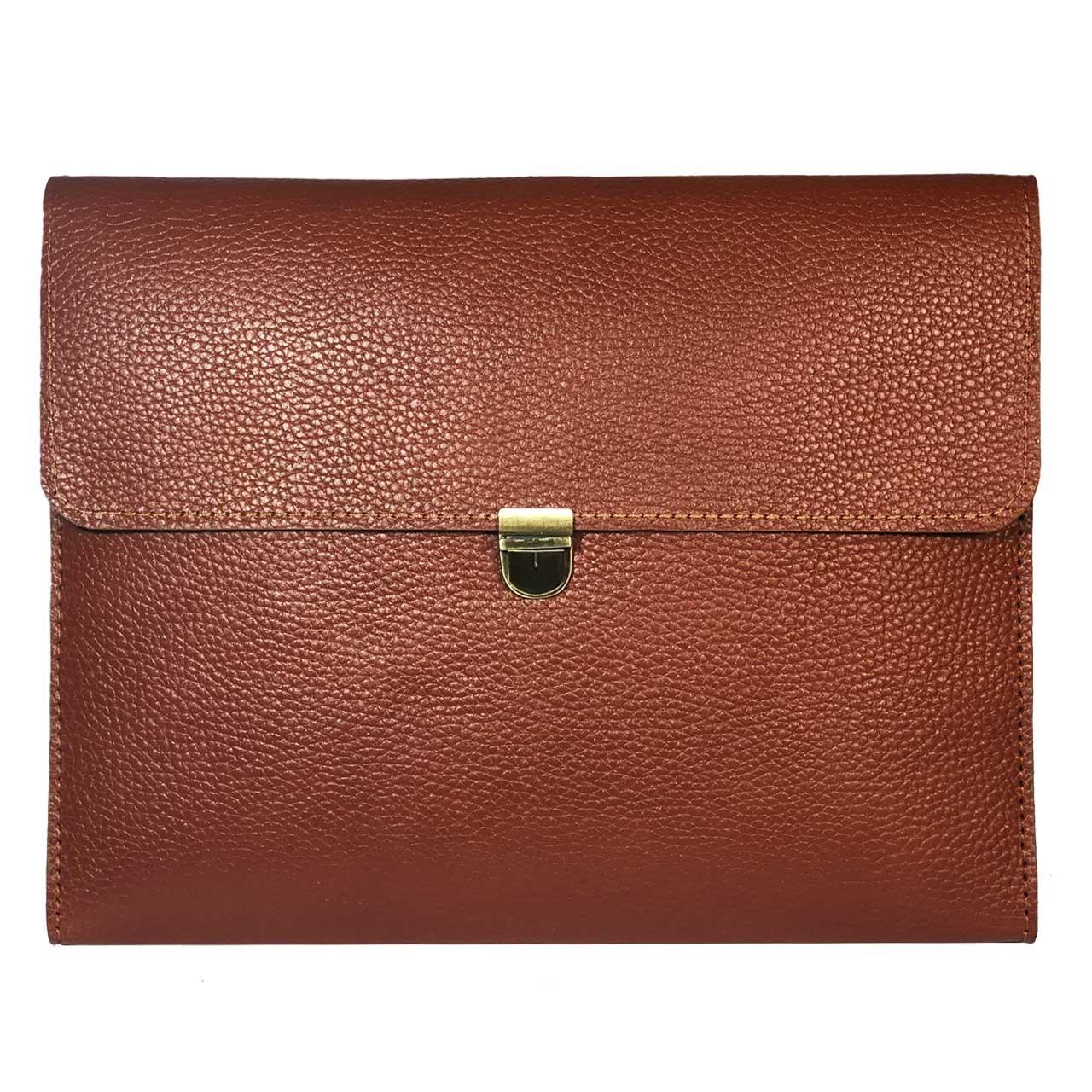 قیمت کیف دستی مردانه چرم طبیعی گلیما مدل 280