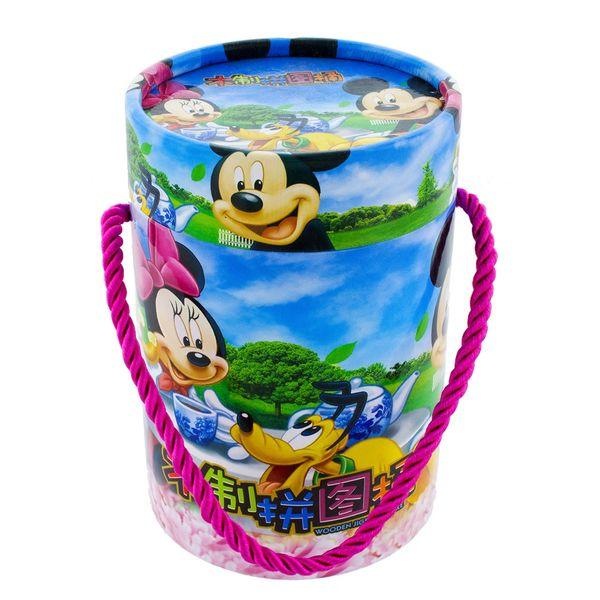 پازل چوبی 80 تکه مدل Micky Mouse