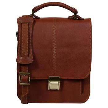 کیف دوشی مردانه چرم ناب کد K56