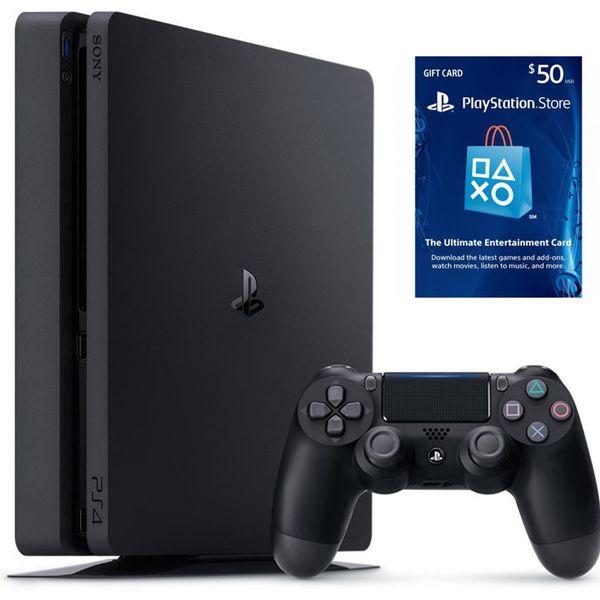 مجموعه کنسول بازی سونی مدل Playstation 4 Slim کد  Region 2 CUH-2116A - ظرفیت 500 گیگابایت | Sony Playstation 4 Slim Region 2 CUH-2116A 500GB Bundle Game Console