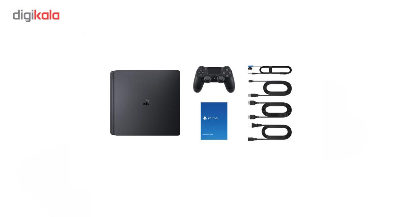 کنسول بازی سونی مدل Playstation 4 Slim کد CUH-2116A Region 2 ظرفیت 1 ترابایت