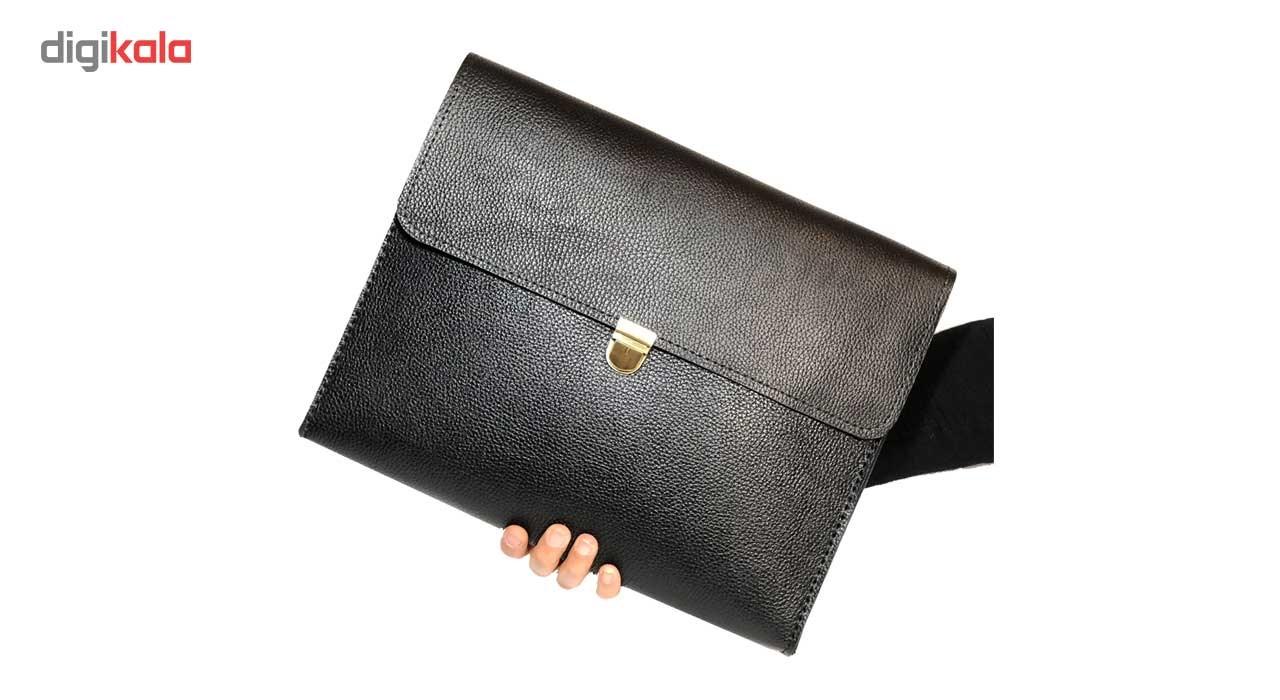 کیف دستی مردانه چرم طبیعی گلیما مدل 280