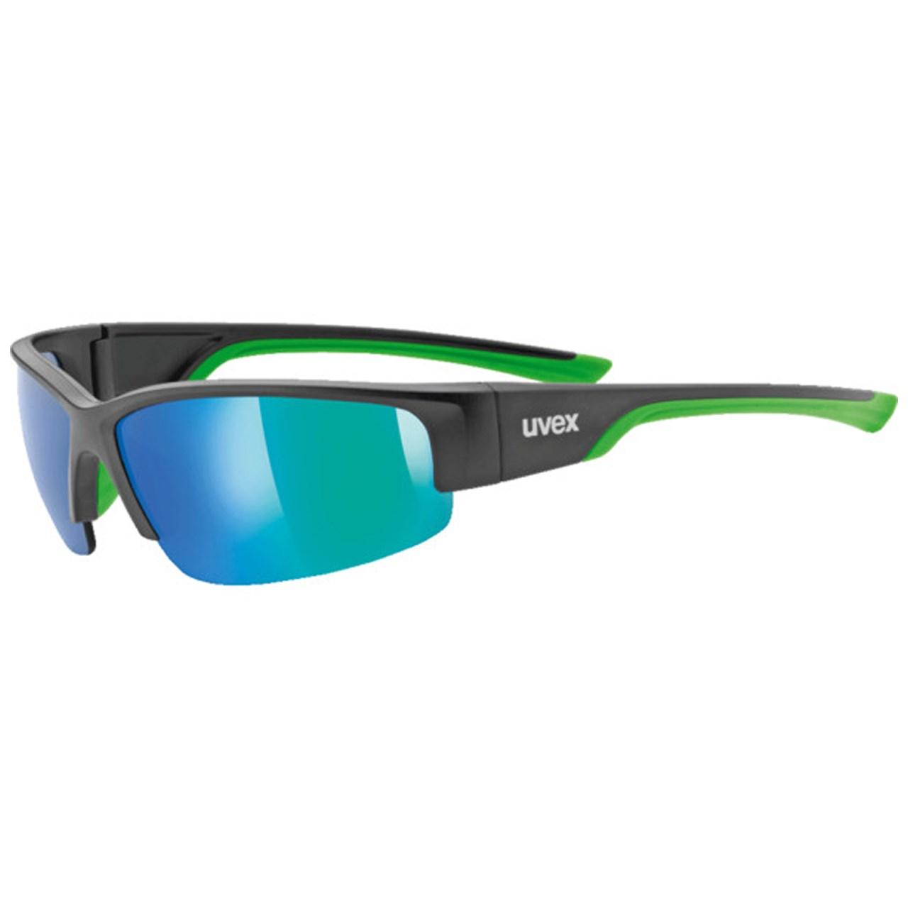 عینک دوچرخه سواری یووکس مدل215 سبز