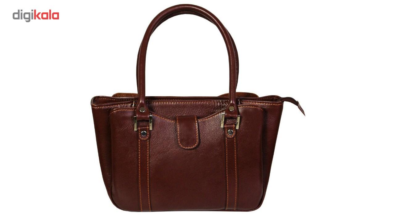 کیف دستی زنانه چرم ناب کد K203
