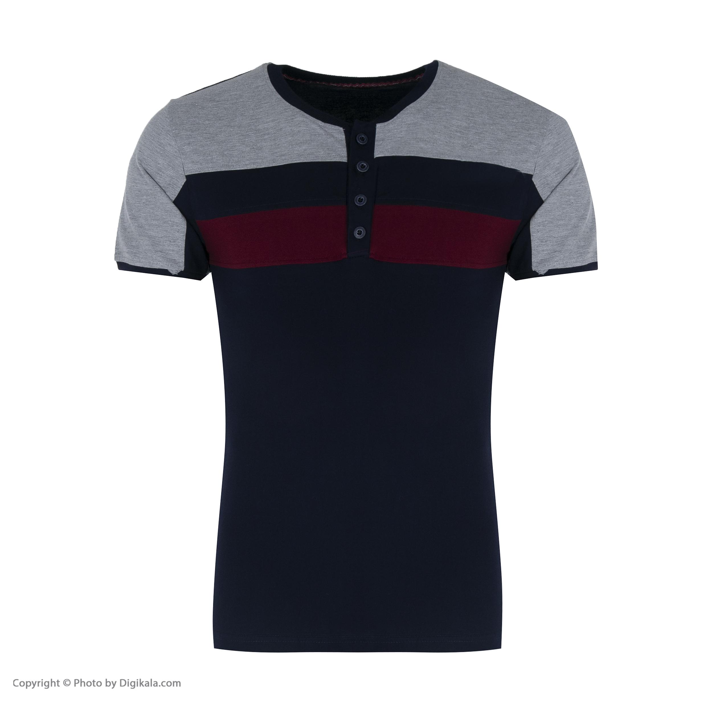ست تی شرت و شلوار مردانه آسوده کد 0240 رنگ مشکی -  - 8