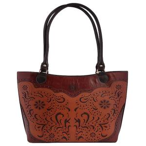 کیف دستی زنانه طرح گل کد 164083407