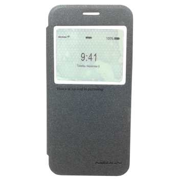 کیف کلاسوری نیلکین مدل Sparkle مناسب برای گوشی موبایل Samsung Alpha /  G850