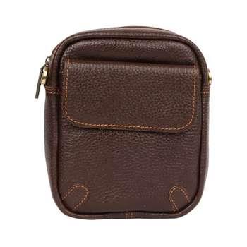 کیف دوشی چرم آرا کد d021F