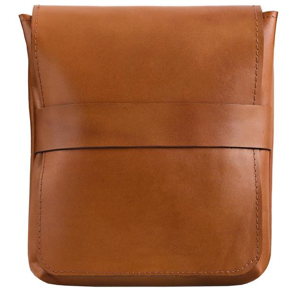 کیف دوشی چرم طبیعی گالری ستاک کد 81032
