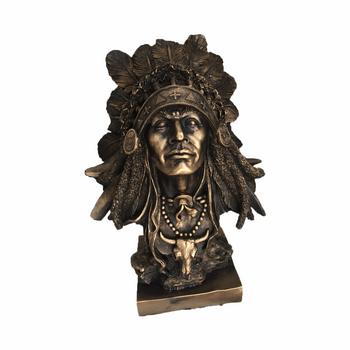 مجسمه ریما کالا طرح سرخ پوست