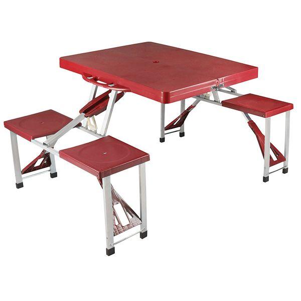 مجموعه میز و صندلی سفری سرماگرم 4 نفره