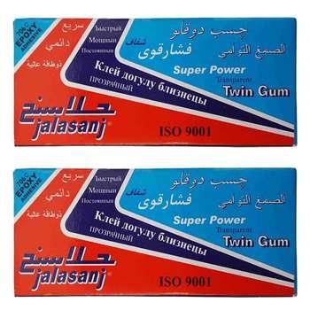 پک چسب دوقلو جلاسنج مدل Super Power بسته 2 عددی