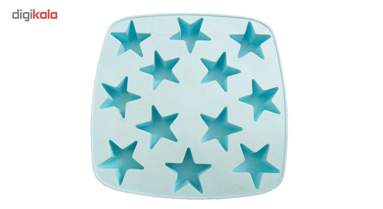 قالب کیک و ژله سیلکونی تاپکو مدل ستاره main 1 1