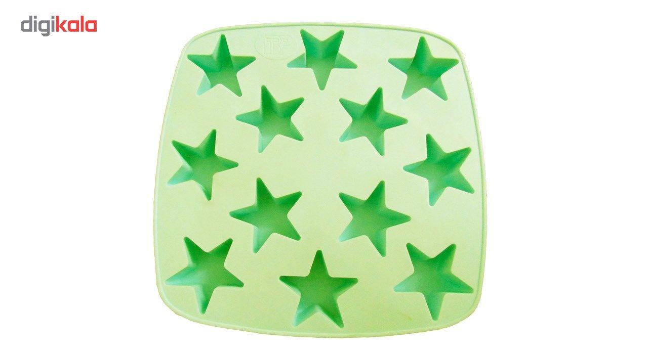قالب کیک و ژله سیلکونی تاپکو مدل ستاره main 1 3