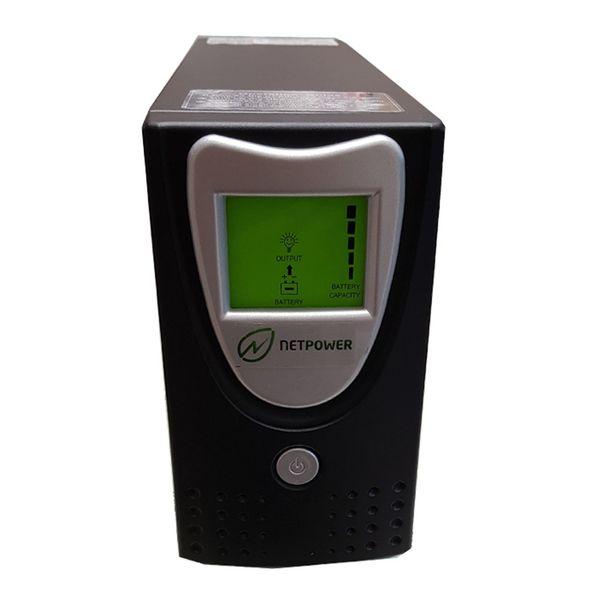یو پی اس نت پاور  ظرفیت 700VA باطری داخلی و نمایشگر دیجیتال | Netpower UPS 700VA Internal Battery And LCD