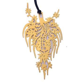 آویز گردنبند طلا 24 عیار زنانه کد KR9