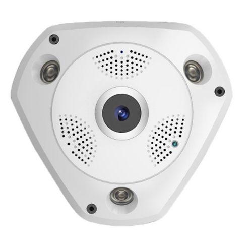 دوربین پانوراما 360 بی سیم تحت شبکه مدل 3D VR Camera