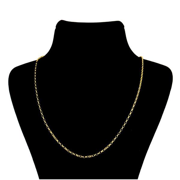 زنجیر طلا 18 عیار گالری طلاچی مدل حلقه ای