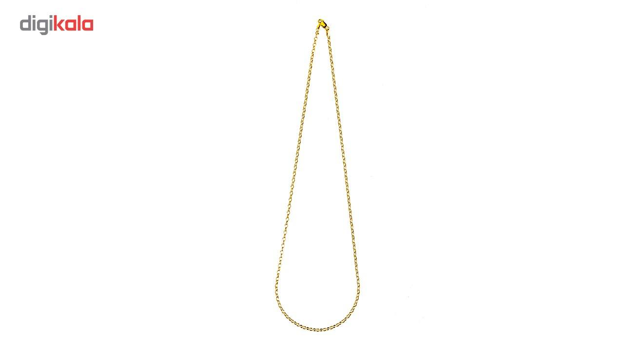 زنجیر طلا 18 عیار گالری طلاچی مدل حلقه ای main 1 1