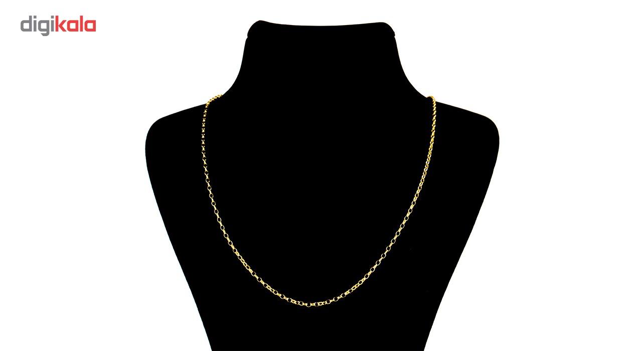 زنجیر طلا 18 عیار گالری طلاچی مدل حلقه ای main 1 3
