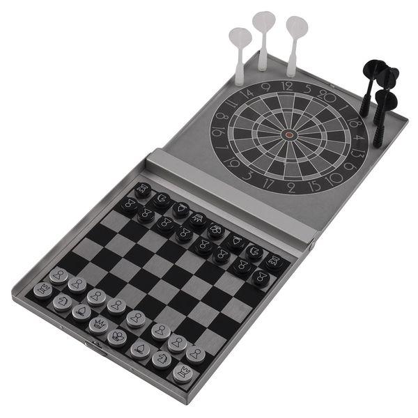 مجموعه بازی فکری دارت و شطرنج آهنربایی مدل XY030P2