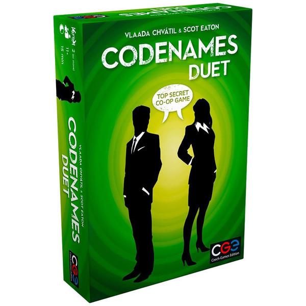 بازی فکری سی جی ای مدل  Codenames Duet