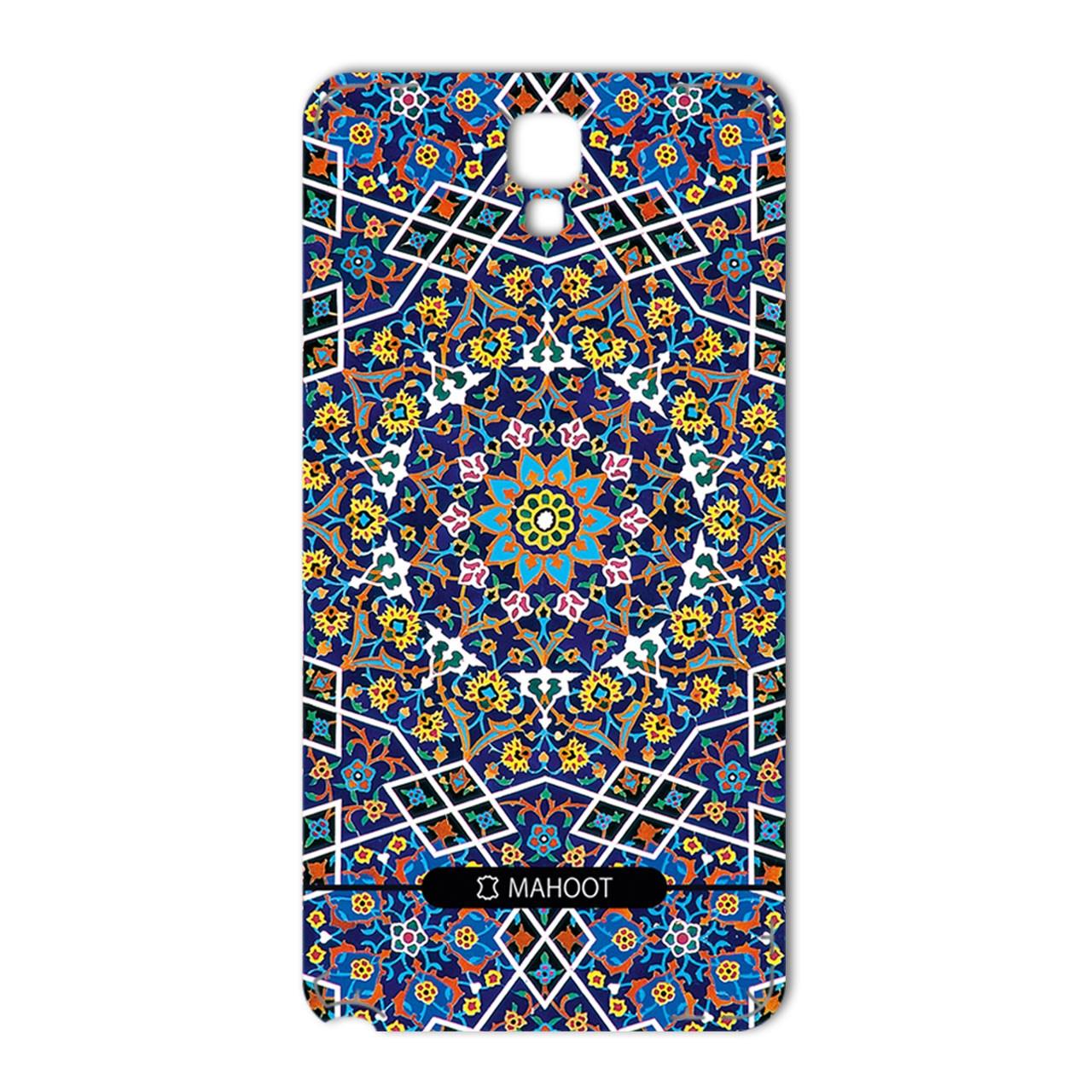برچسب تزئینی ماهوت مدل Imam Reza shrine-tile Design مناسب برای گوشی  Samsung Note 3 Neo